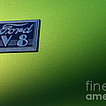 40 Ford - V8 Logo-8565-1 by Gary Gingrich Galleries