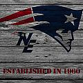New England Patriots by Joe Hamilton