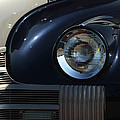 40 Olds Headlight by Bill Swartwout Photography