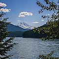 40620-3 Detroit Lake And Mt Jefferson by Albert Seger