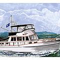 42 Foot Grand Banks Motoryacht by Jack Pumphrey