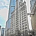 Wrigley Building  by Patrick  Warneka