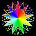 432hz Rainbow Star by Derek Gedney