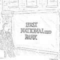 First Nationalized Bank by Robert Mankoff