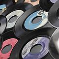 45 Records Nostalgia by Athena Mckinzie