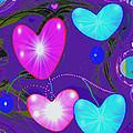 472 -  Valentine Hearts  ... by Irmgard Schoendorf Welch