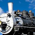 480 Locomotive by Sylvia Thornton