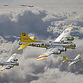 487th Bomb Group by Pat Speirs