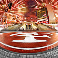 49ers Levi's Stadium Fire Works by Blake Richards
