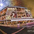 49ers Levi's Stadium Orange Night Sky by Blake Richards