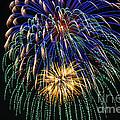 4th Of July 2014 Fireworks Mannington Wv 1 by Howard Tenke