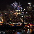 4th Of July Firworks In Pittsburgh by Jetson Nguyen