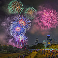 4th Of July In Houston Texas by Micah Goff