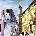 Bull Terrier Art Canvas Print by Sandra Sij