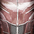 1940 Ford Deluxe Coupe Grille by Jill Reger
