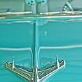 1956 Chevrolet Belair Hood Ornament by Jill Reger