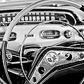 1958 Chevrolet Impala Steering Wheel by Jill Reger