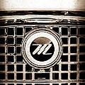 1959 Nash Metropolitan Grille Emblem by Jill Reger
