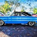 1967 Plymouth Belvedere Gtx 440 Painted  by Rich Franco