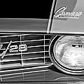 1969 Chevrolet Camaro Z 28 Grille Emblem by Jill Reger
