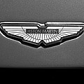 Aston Martin Emblem by Jill Reger