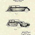 Automobile 1935 Patent Art by Prior Art Design