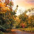 Autumn's Sunset Path by Jessica Jenney