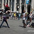 Breakdancers by Carol Ailles