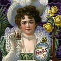 5 Cent Coca Cola - 1890 by Daniel Hagerman