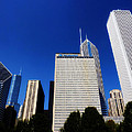 Chicago Skyline by Mountain Dreams