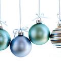 Christmas Ornaments by Elena Elisseeva