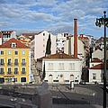 City Of Lisbon In Portugal by Artur Bogacki