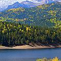 Crystal Lake On Pikes Peak by Steve Krull