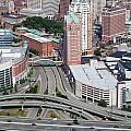 Downtown Providence Rhode Island by Bill Cobb