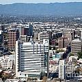Downtown San Jose California by Bill Cobb