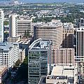 Downtown Skyline Of Wilmington by Bill Cobb
