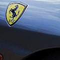 Ferrari Emblem by Jill Reger