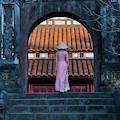 Girl In Ao Dai (traditional Vietnamese by Keren Su