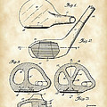 Golf Club Patent 1926 - Vintage by Stephen Younts