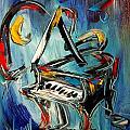 Grand Piano  by Mark Kazav