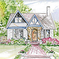 House Rendering by Lizi Beard-Ward