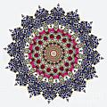Kaleidoscope Colorful Jeweled Rhinestones by Amy Cicconi
