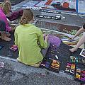 Lake Worth Street Painting Festival by Debra and Dave Vanderlaan