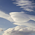 Lenticular Clouds by John Shaw