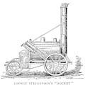 Locomotive Rocket, 1829 by Granger