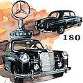Mercedes 180 by Yoshiharu Miyakawa