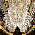 Mezquita Cathedral Interior In Cordoba by Artur Bogacki