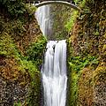 Multnomah Falls by Brian Jannsen