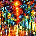 Night Park by Leonid Afremov