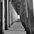 Pensacola Beach Pier by Vonda Barnett